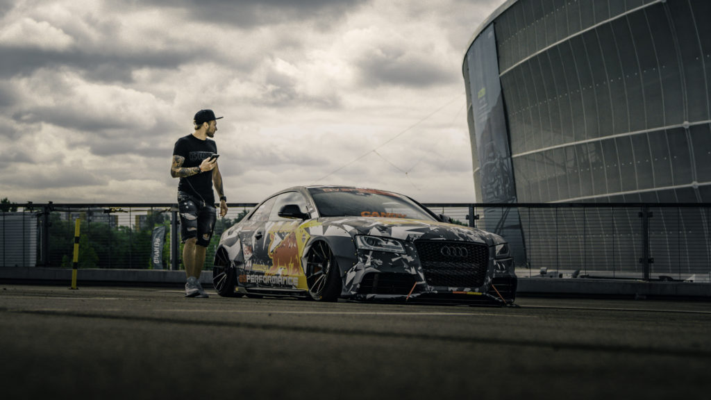 Bagged Audi A5 3.0 from Raceism 2019