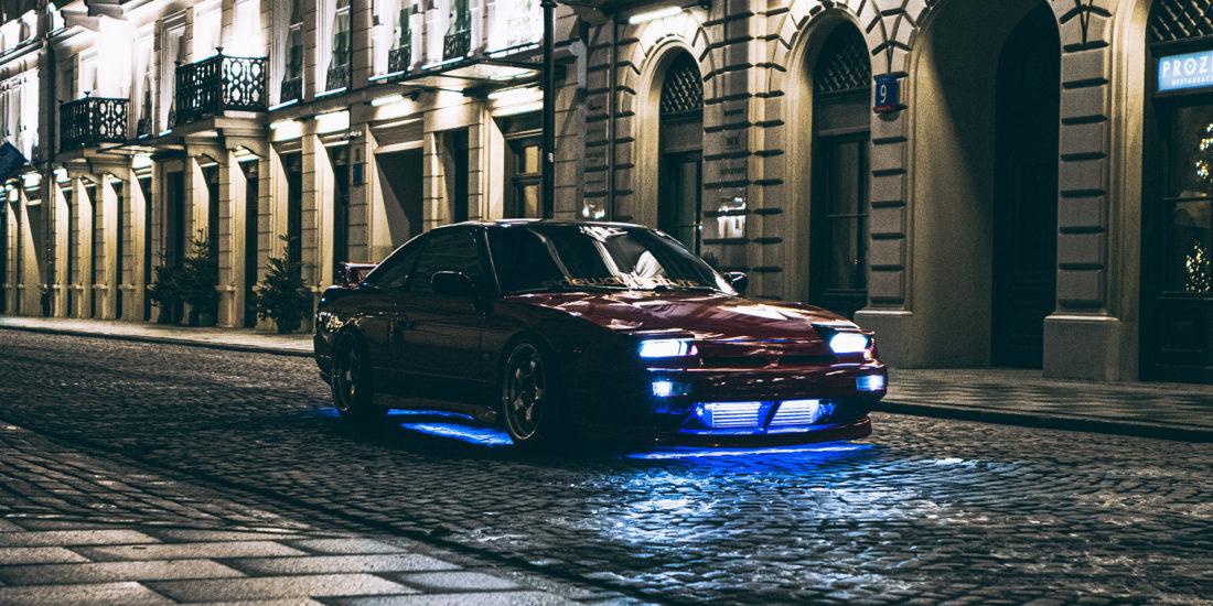 Nissan 200SX S13 Midnight Run